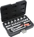 Yato zestaw 22 narzędzi 3/8'' YT-38561
