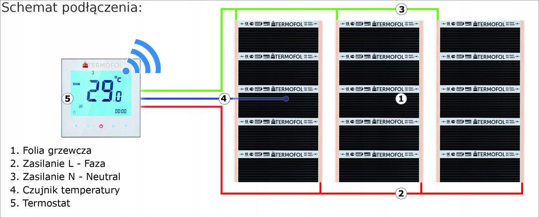 Nowoczesna architektura Podkład izolacyjny Laminowany 5mm folia grzewcza 7148440211 XQ58