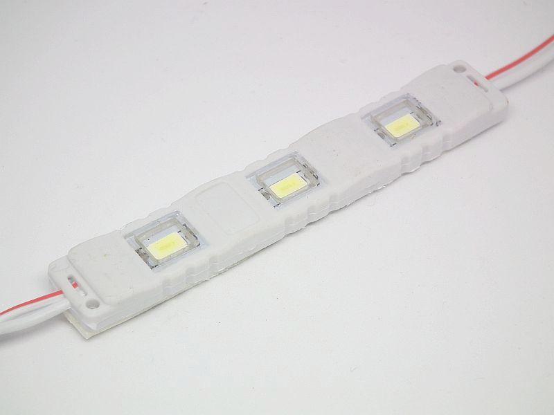 Moduł LED x3 12V 2wat SAMSUNG - BIAŁA CIEPŁA