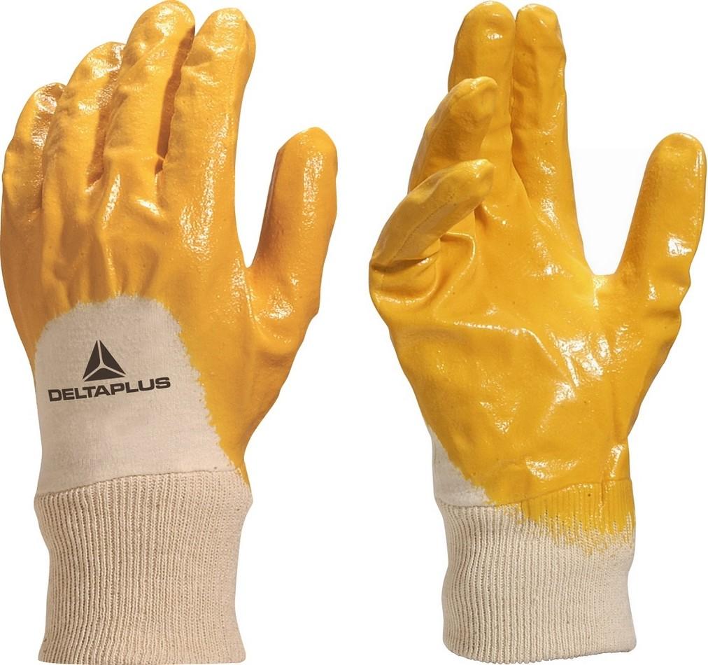 d7ee4c041d2ed2 Rękawice robocze nitrylowe NI015 SUPER JAKOŚĆ 8 7357154988 - Allegro.pl