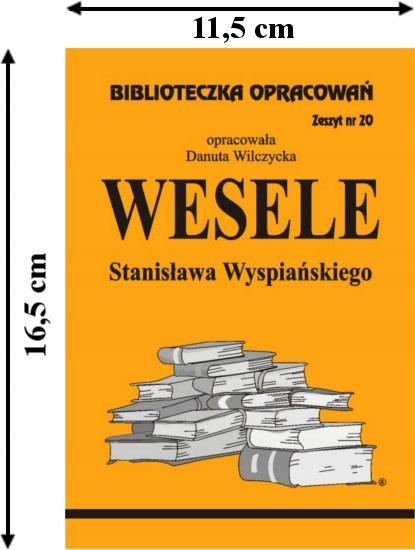 Wesele S Wyspiańskiego Biblioteczka Opracowań 7522987140 Allegropl