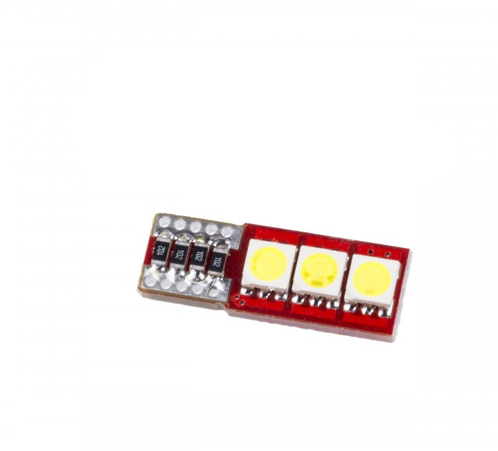 Diody LED W5W 3SMD 5050 CANBUS