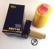 Zestaw filtrów MERCEDES C-Klasse W203 W204