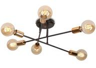 LAMPA SUFITOWA LOFT DESIGN VEKEN 6 LED od EMIBIG