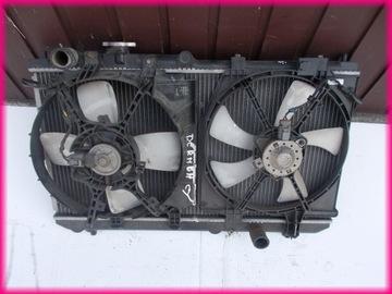 mazda premacy 1.8, 2.0 радиатор воды, вентиляторы - фото
