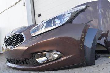 Капот бампер крыло панель фара kia ceed 2012- - фото 12