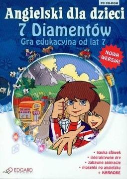 Angielski dla dzieci 7 Diamentów доставка товаров из Польши и Allegro на русском