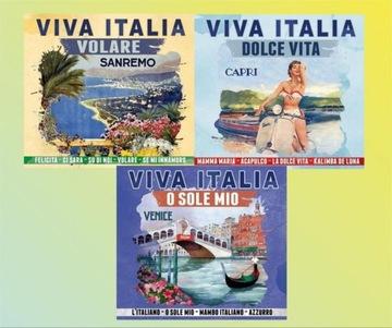 Viva Italia włoskie przeboje muzyka piosenki доставка товаров из Польши и Allegro на русском