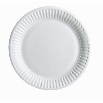 Посуда одноразовые Бумажные Тарелки 18см 100шт доставка товаров из Польши и Allegro на русском