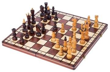SQUARE - Шахматы деревянные ПРЕЗИДЕНТСКИЕ 45 x 45 см доставка товаров из Польши и Allegro на русском
