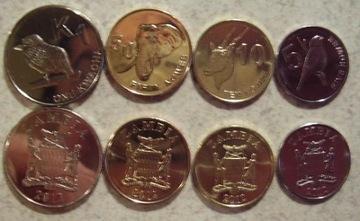 ЗАМБИЯ 2012 набор из 4 монет Новая Эмиссия доставка товаров из Польши и Allegro на русском