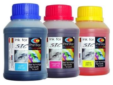 КАРТРИДЖ color HP 301/Canon PIXMA/ Brother 3x250ml CMY доставка товаров из Польши и Allegro на русском