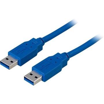 *ВЫСОКОСКОРОСТНОЙ КАБЕЛЬ USB 3.0 1,5 м, А-А, мужской-мужской-АМ-АМ доставка товаров из Польши и Allegro на русском