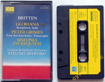 (Б. Бриттен - Глориана, Питер Граймс... (MC) ОЧ.) доставка товаров из Польши и Allegro на русском