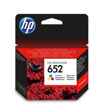 Оригинальные чернила HP 652 цвет trójkolor (F6V24AE) доставка товаров из Польши и Allegro на русском