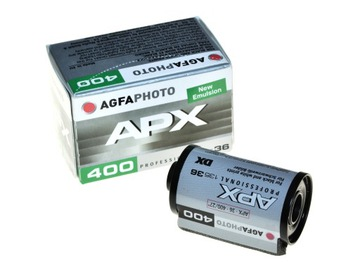 Agfa Agfaphoto APX 400/36 фильм BW классика 10.2023 года доставка товаров из Польши и Allegro на русском