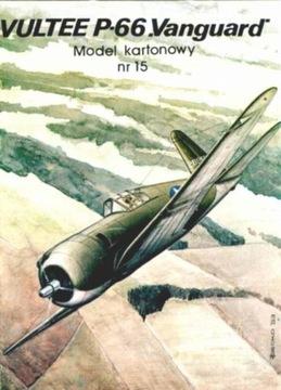 Model Card № 15 P-66 Vanguard доставка товаров из Польши и Allegro на русском