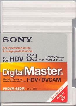 Картридж PHDVM63DM SONY Master 63min HD DVCAM Москва доставка товаров из Польши и Allegro на русском