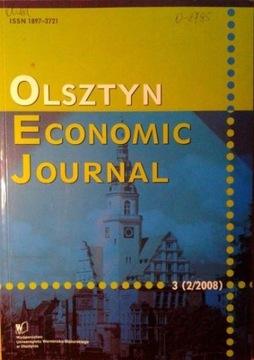 Ольштын Economic Journal 3 (2/2008) доставка товаров из Польши и Allegro на русском