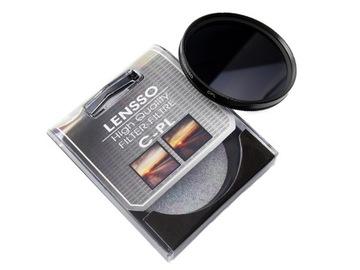 Фильтр поляризационный Lensso CPL 67mm 67 мм доставка товаров из Польши и Allegro на русском