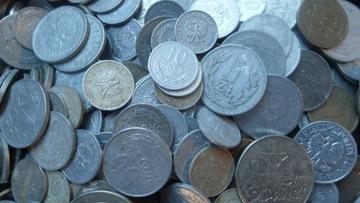 Набор 1 кг монет Польской Народной Республики Килограмм доставка товаров из Польши и Allegro на русском