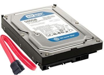 Жесткий диск HDD WD 500GB SATA III 3 7200 доставка товаров из Польши и Allegro на русском