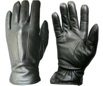 Перчатки Мужские Кожаные Утепленные Кожа Размер L доставка товаров из Польши и Allegro на русском