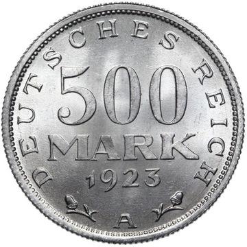 Германия 500 Марок 1923 А - MENNICZA ИЗ РУЛОНА доставка товаров из Польши и Allegro на русском