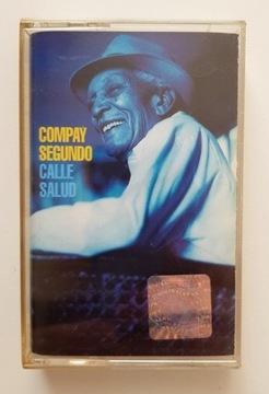 КОМПАЙ СЕГУНДО CALLE SALUD* кассета аудио доставка товаров из Польши и Allegro на русском