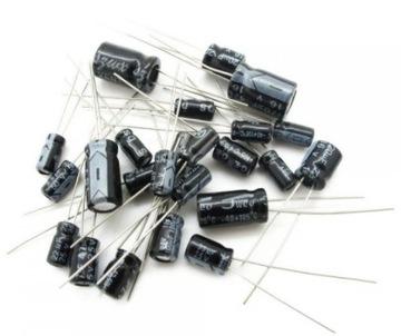 Набор электролитических конденсаторов 120szt(1014 доставка товаров из Польши и Allegro на русском