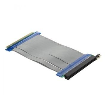 Лента Riser PCI-E PCIE PCI Express 16x - 16x 19 см доставка товаров из Польши и Allegro на русском