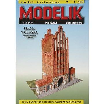 Штампик 5/03 - Ворота Wolińska Барашки 1:100 доставка товаров из Польши и Allegro на русском