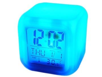 Будильник Световой Часы Часы Хамелеон, Термометр доставка товаров из Польши и Allegro на русском