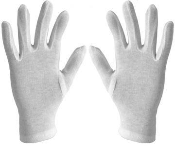 Перчатки Хлопчатобумажные для Монет 100% Хлопок р. 8 доставка товаров из Польши и Allegro на русском