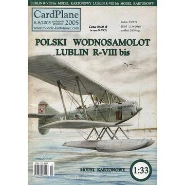 CardPlane 6-8/2005 Самолета Lublin R-VIII bis 1:33 доставка товаров из Польши и Allegro на русском