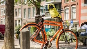1d52490a21580f Fotelik rowerowy na przód na Allegro - kupuj taniej online