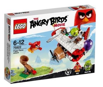 LEGO 75822 ANGRY BIRDS - ÚTOKY PRASIATKY