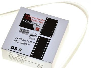 FOMAPAN R 100 DS8 Reverzibilný film na 2x10 M kamery.