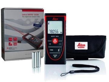 Laserový diaľkový radič Leica Disto D210 laserové opatrenie