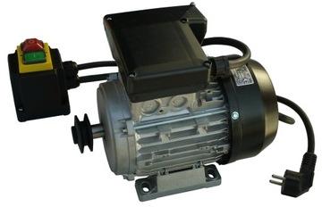 Elektromotor 1.1 KW 1 Fázová betónová miešačka 230V FV