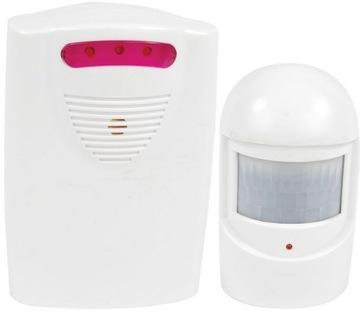 Mini ALARM so vstupnou sirénou pohybového senzora
