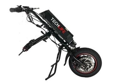 Jablká prístelka. Elektrický invalidný vozík
