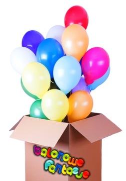 Balóny s Helium Box darček pre narodeniny s poštovným
