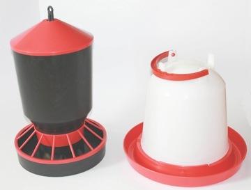Karmnik Karmiło hydina Kur 10 l + 10 kg