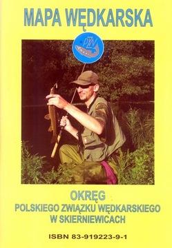 Rybárska mapa PZW District - Skirewice