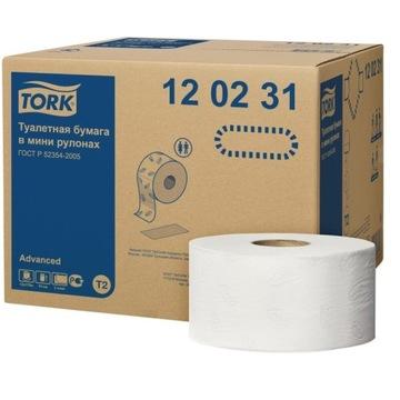 Tork WC Paper 120231 Mini Jumbo 12 Valce
