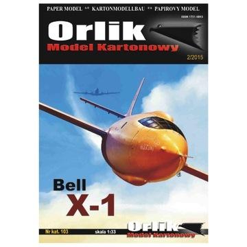 ORLIK 103 - EXPERTIÁLNA LÁMKA BELL X-1 1:33