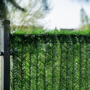 Забор балкона искусственная живая изгородь HGF 140 см
