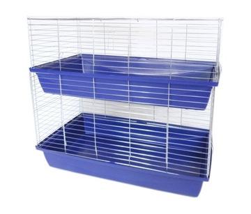 Клетка для кроликов двухъярусная, свиньи 100 см