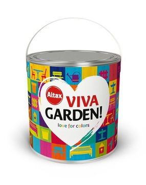 ALTAX VIVA GARDEN 2.5L ВСЕ ЦВЕТНЫЕ ПРОДУКТЫ
